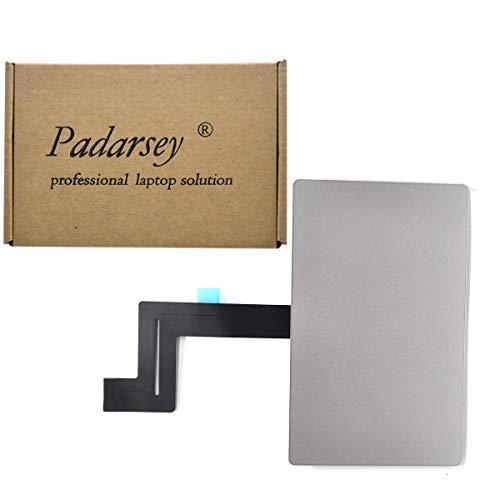 Padarsey Reemplazar almohadilla táctil táctil para MacBook Pro Retina 13' Unibody A1706 Touch Pad con cable flexible (compatible con la versión 2016-2017) (A1706 2016-2017 13' con cable (plateado))