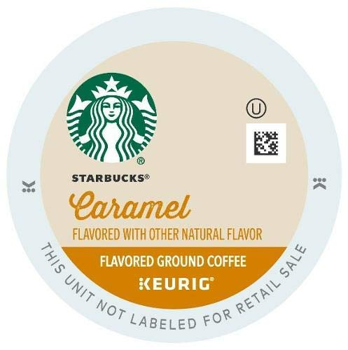 Starbucks Caramel Flavored Coffee K-Cups, 22 Count