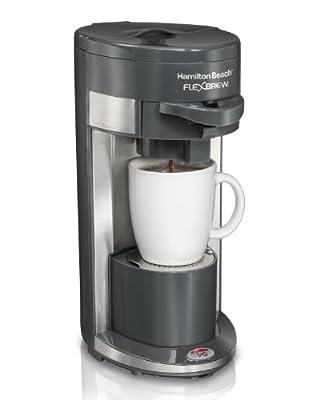 Hamilton Beach Single-Serve Coffee Maker, FlexBrew (49999A) (Discontinued Model) from Hamilton Beach