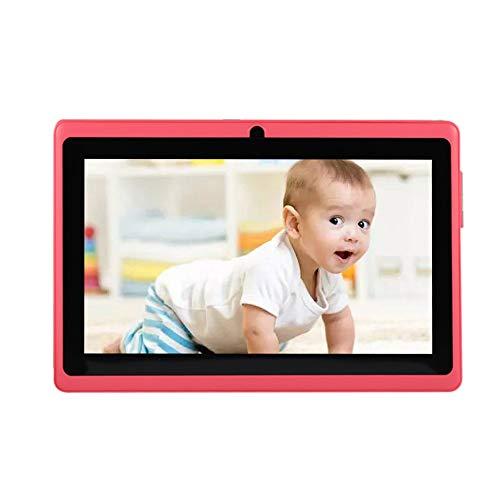 Docooler Tablet PC para niños de 7 Pulgadas con cámaras duales 8GB Quad-Core Wi-Fi Tablet PC Pad(Blanco, Rosa, Rojo, Púrpura, Azul, Negro)
