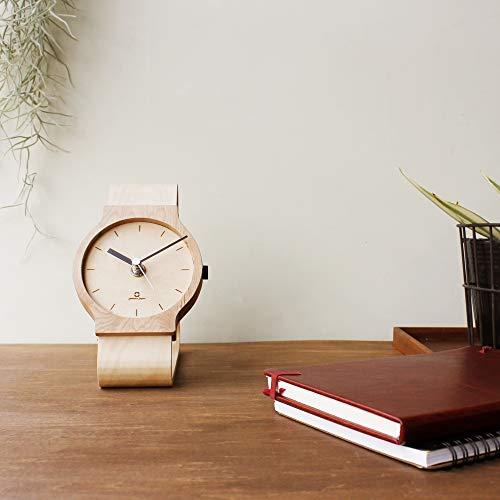 ヤマト工芸『Watchesclock腕時計型の置き時計』