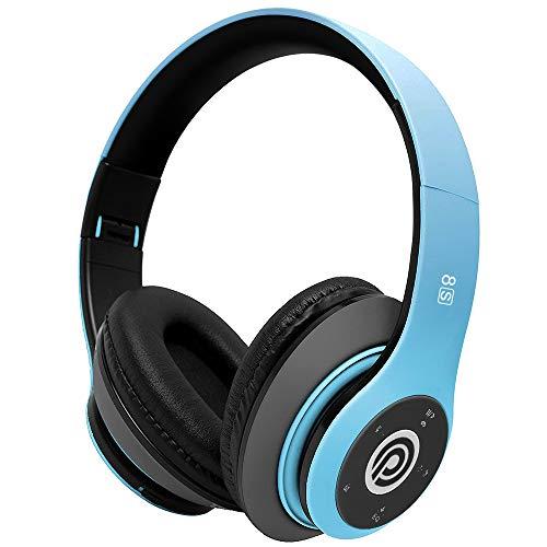 8S Kabellose Kopfhörer, Stereo-Sound, faltbar, True Wireless Bluetooth Kopfhörer, Geräuschunterdrückung mit eingebautem Mikrofon/Lautstärkeregler, kompatibel mit iPhone/Samsung/iPad/PC, etc.