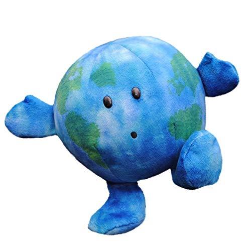 MHBY Plüschkissen, niedliches Karikaturplaneten-Planetenkissen weiches Plüsch-Taillenkissen Schlafsofa runder Kissen Moderne Wohnzimmerdekoration