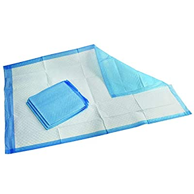 Medpride Disposable Underpads 23'' X 36'' (50-Count) Incontinence Pads, Bed Covers, Puppy Training | Thick, Super Absorbent Protection for Kids, Adults, Elderly | Liquid, Urine, Accidents