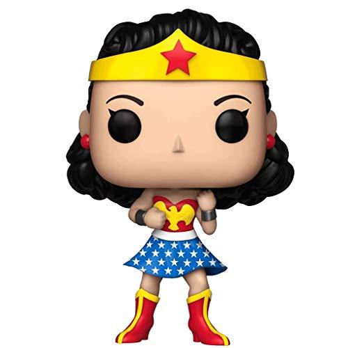 MCC Studio Funko Pop Heroes : DC Wonder Woman (Exclusive) Figure Gift Vinyl 3.75inch for Heros Movie Fans Bobblehaed