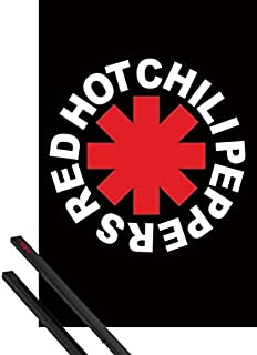 1art1 Red Hot Chili Peppers Póster (91x61 cm) Logo Y 1 Lote