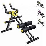 XN8 Appareil à Abdominaux Pliable,AB Trainer Professionnel,AB Roller Abdominal Trainer,Entraînement de Musculation,Réglable Équipement de Fitness à Domicile