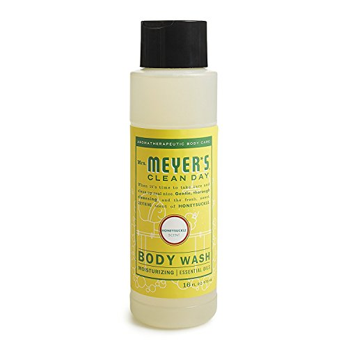 Mrs. Meyer's Clean Day Moisturizing Body Wash, Cruelty Free and Biodegradable Formula, Honeysuckle...