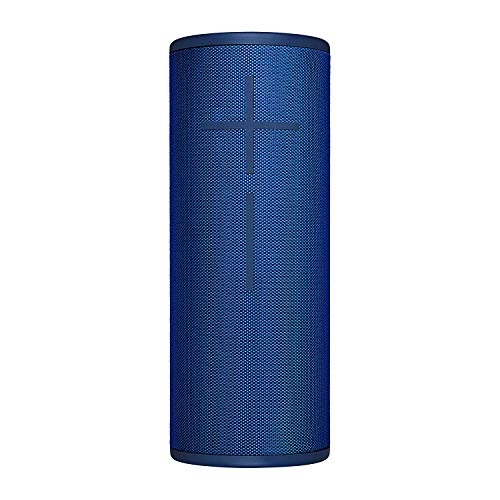 Ultimate Ears Megaboom 3 Altoparlante Wireless Bluetooth, Suono Potente e Bassi Roboanti, Bluetooth, Magic Button, Impermeabile, Batteria 20 h, senza Power Up, Raggio 45 m, Blu