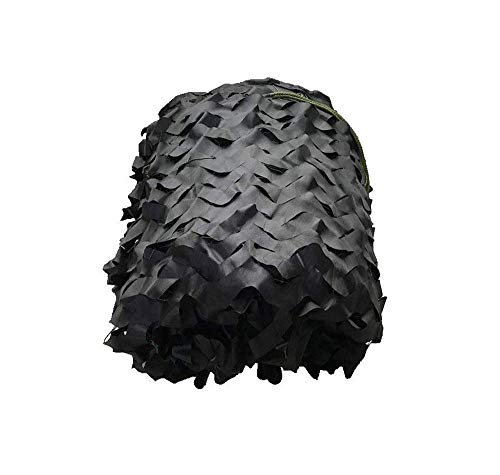 WZHCAMOUFLAGENET Schwarzer Modus-Tarnnetz-Zelt-Tuch-Sonnenschirm Geeignet Für Gartendekoration-Fotografie Multi-Size Optional (größe : 3 * 8m)