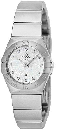 [オメガ] 腕時計 コンステレーション ホワイトパール文字盤 ダイヤモンド 123.10.24.60.55.004 並行輸入品 シルバー