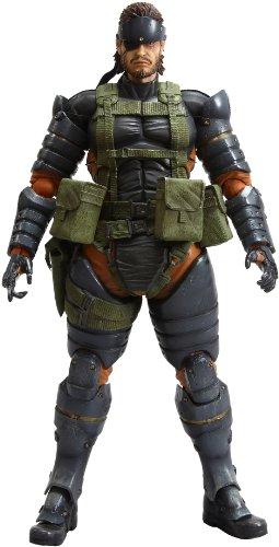 Figurine Metal Gear Solid : Peace Walker Play Arts Snake Battle Dress