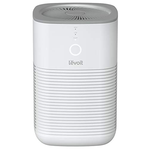 Levoit Air Purifiers for Home Bedroom with H13 True HEPA Filter, 3-Stage...