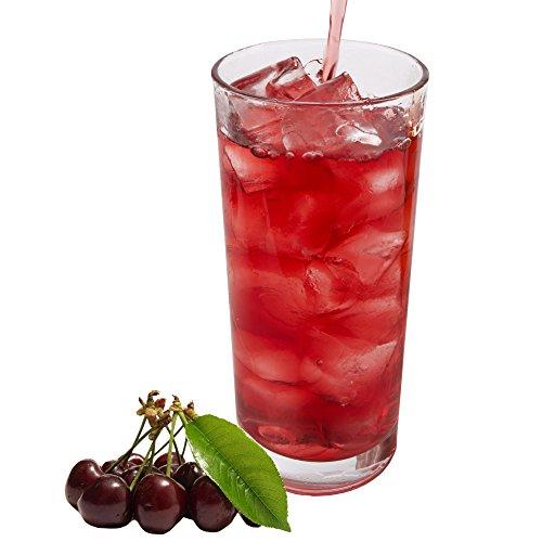 Schwarzwälder Kirsch Geschmack extrem ergiebiges Getränkepulver für Isotonisches Sportgetränk Energy-Drink ISO-Drink Elektrolytgetränk Wellnessdrink