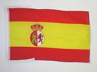 AZ FLAG Bandera de la Primera REPÚBLICA DE ESPAÑA 1873-1874 45x30cm - BANDERINA ESPAÑOLA Antigua 30 x 45 cm cordeles
