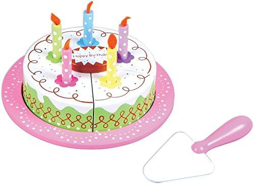 Lelin Toys - 30589 - Jeu D'imitation - Cuisine - Gâteau D'anniversaire