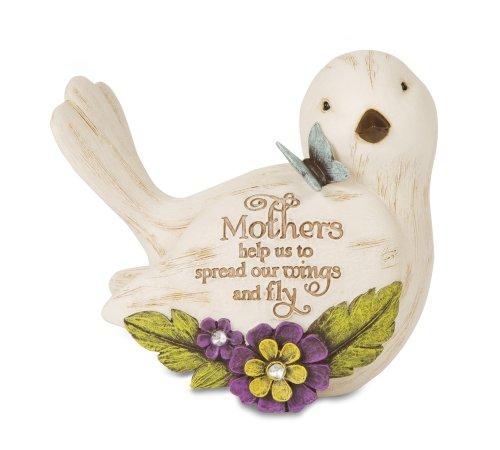 "Pavilion Gift Company 41046 Estatueta de pássaro Simple Spirits ""Mother"", 8,8 cm"