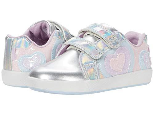 Stride Rite Girls Made2Play Eliza Running Shoe, Iridescent Multi, 9.5 Wide Toddler