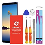 Galaxy Note 8 Battery, SNSOU 3600mAh EB-BN950ABA Replacement Battery for Samsung Galaxy Note 8 SM-N950 N950V N950A N950P N950T N950R4 with Repair Replacement Kit Tools