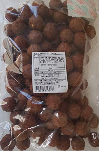 冷凍 ミニ 黒糖黒丸 どーなつ 1kgx12P(個約7g) 業務用 お得 ドーナッツ