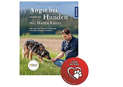 KOSMOS Angst bei Hunden - mit Martin Rütter: Umgang mit ängstlichen und traumatisierten Hunden + Hunde Sticker