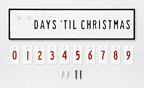 Hearth & Hand with Magnolia Metal Days Until Christmas Countdown Calendar