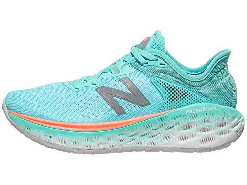 New Balance Tênis de corrida feminino Fresh Foam More V2, Sal marinho/Newport Blue, 7