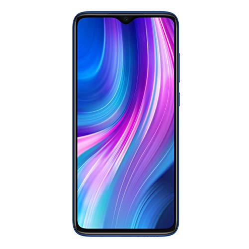 Xiaomi Redmi Note 8 Pro 128GB, 6GB RAM 6.53' LTE GSM 64MP Factory Unlocked Smartphone - Global Model (Ocean Blue)