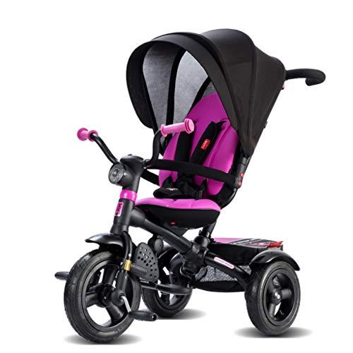 Carrito de bebe Cochecito de bebé para bebé de 1-4 años de edad, cochecito convertible, ultra liviano, compacto, solo cochecito Cochecito/Silla Paseo (Color : Pink)