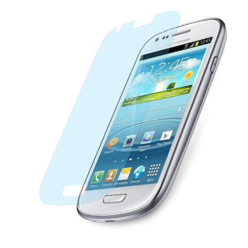 doupi Ultrathin Schutzfolie für Samsung Galaxy S3 Mini i8190, matt entspielgelt optimiert Bildschirm Schutz (3X Folie in Packung)