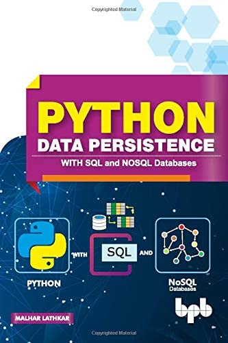Python Data Persistence With SQL and NOSQL Databases product image