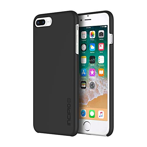 Incipio IPH-1680-BLK Feather Case for Apple iPhone 8 Plus - Black