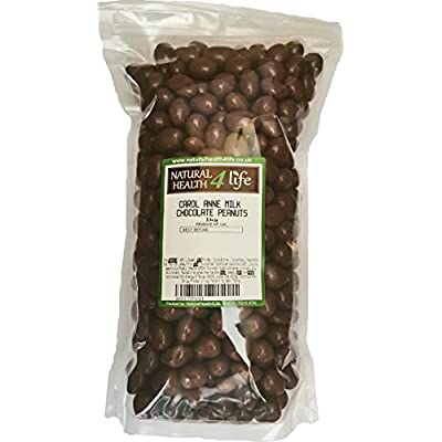 carol anne - milk chocolate covered peanuts - 1kg with free p&p Carol Anne – Milk Chocolate Covered Peanuts – 1kg with Free P&P 41I0EApBslL