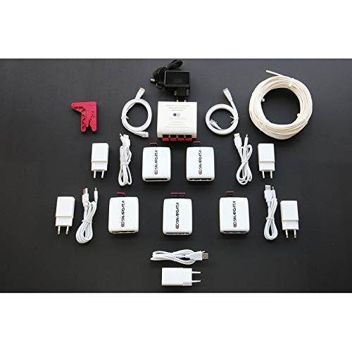 ACTELSER Kit Premium De Fibra Óptica Plástica Snap Data.