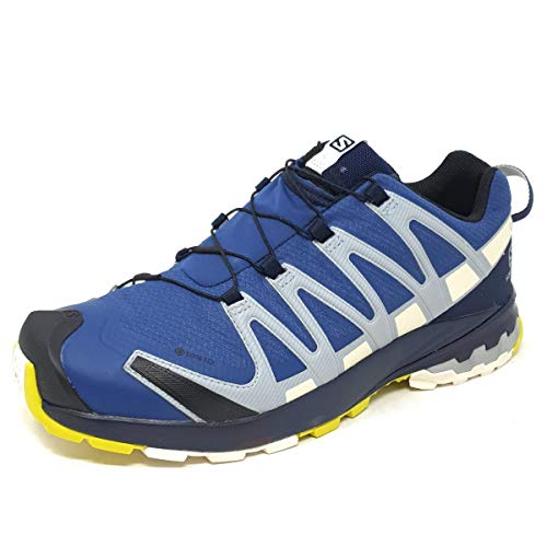 SALOMON Speedcross 4 GTX, Scarpe da Trail Running Uomo, Blu (Dark Denim/Navy Blazer/Vanilla Ice), 40 2/3 EU