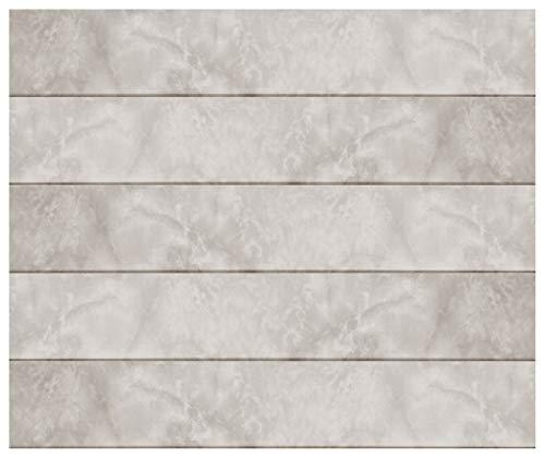 10 qm Deckenpaneele | hellbraune Marmoroptik | extrudiertes Polystyrol | Inneneinrichtung | Dekor Paneele | XPS | Hexim | 100 x 16,7 cm | P-17