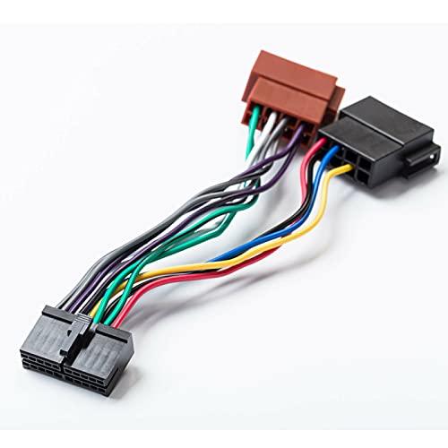 Adaptador ISO para Radio de Coche, Cable de 20 Pines, Conector DIN Universal para AEG, estéreo para Coche, Prología, autoradio Audiovox JGC, etc.