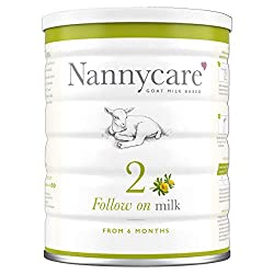 NUTRITIONALLY TAILORED goat milk formula. For babies 6-12 months to complement the weaning diet for your baby's healthy growth and development. WHYGOAT MILK? At Nannycare, we have specialised for 30 years in goat milk formula for babies and toddlers...