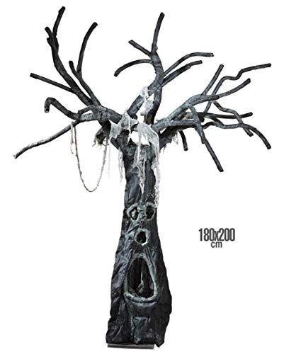 Horror-Shop Albero di Halloween Incantato 180 X 200 Cm