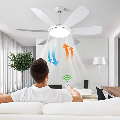 Albrillo Ventilatore da Soffitto con Lampada – 91W Ventilatore con Luce Ø...