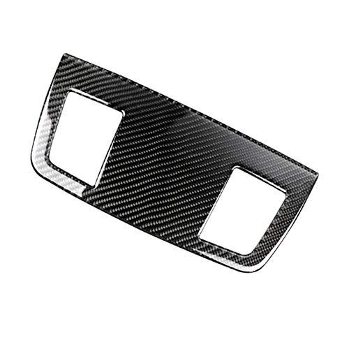HUAER 2020 Hot New Car Carbon Fibra De Carbono Dashboard Air Outlet Wrting Foot Fit para BMW E90 E91 Serie 3