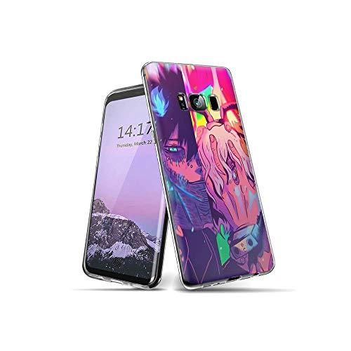 CBiBaMEi Samsung Galaxy S8 Plus Funda, teléfonos móviles Carcasa Transparente Suave Silicona TPU Gel Ultra Fina Protección Funda para Samsung Galaxy S8 Plus #D007