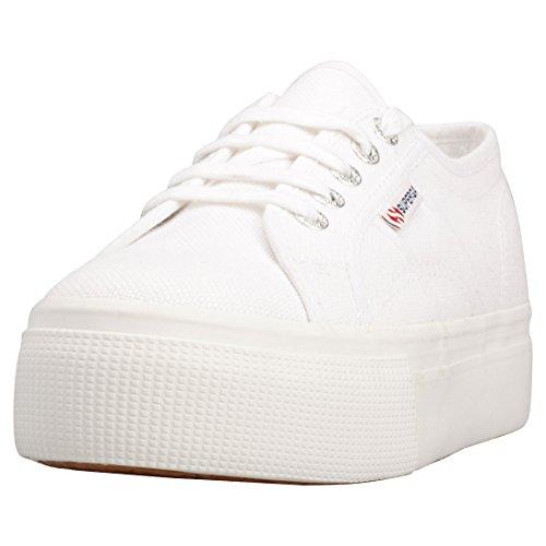 Superga 2790ACOTW LINEA UP AND DOWN, Sneaker Donna, Bianco (White 901), 39 EU