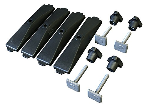Thule 696600 adapter 696 – 6 track voor dakkoffer powerclick, 24 mm, set van 4