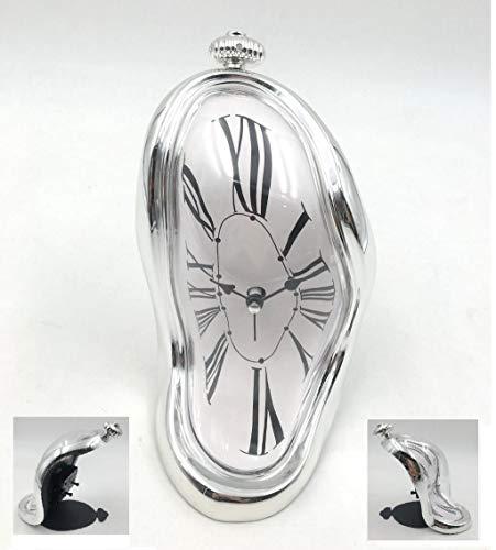 DECOHOUSE Reloj Despertador Decorativo Original Dali, Regalo Ideal para su casa Oficina