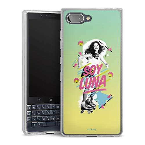 DeinDesign Silikon Hülle kompatibel mit BlackBerry Key2 LE Hülle transparent Handyhülle Soy Luna Disney Serienmotiv