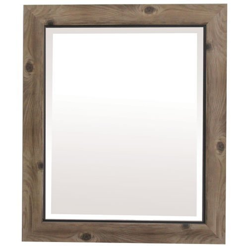Yosemite Home Decor Yosemite Mirrors, Small, Gray/Black