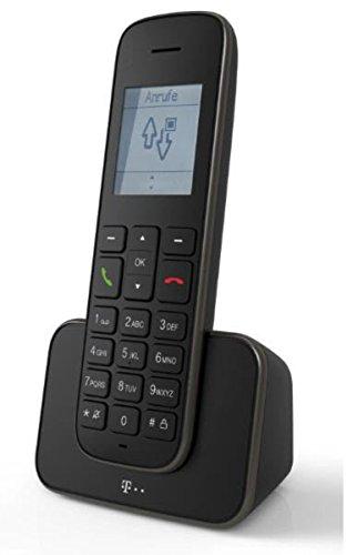 Telekom Erweiterungspack Sinus 207 Pack (Mobilteil und Ladeschale) schwarz