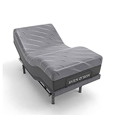"""Sven & Son Twin XL Hybrid Mattress 14"""" Bamboo Charcoal and Luxury Cool Gel Memory Foam, Motion ISOLATING Springs, Designed in USA (Twin XL, Mattress Only 14"""")"""