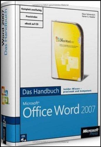 Microsoft Office Word 2007 - Das Handbuch